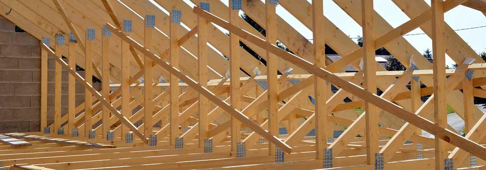charpente industrielle bois
