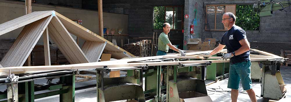 Fabrication - Atelier charpentes industrielles